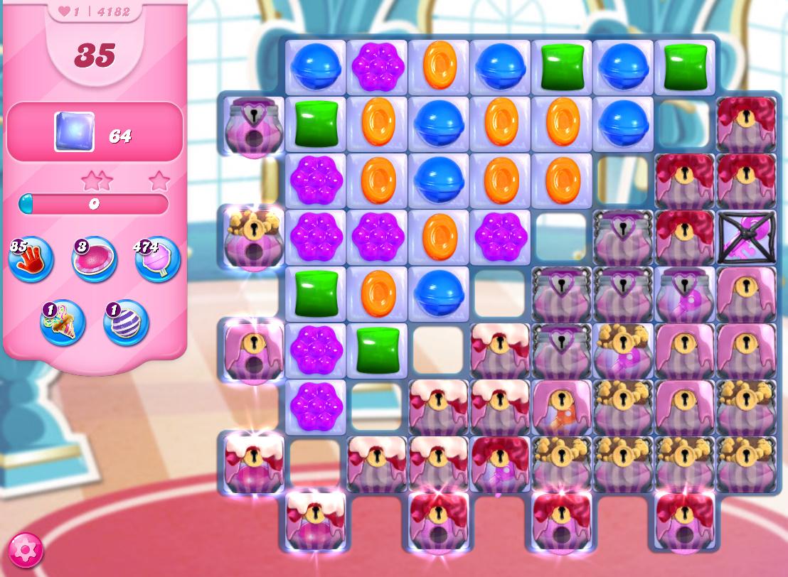 Candy Crush Saga level 4182
