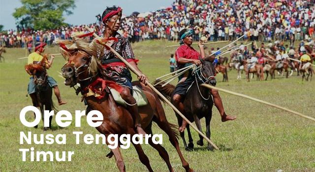 Lirik Lagu Orere - Nusa Tenggara Timur