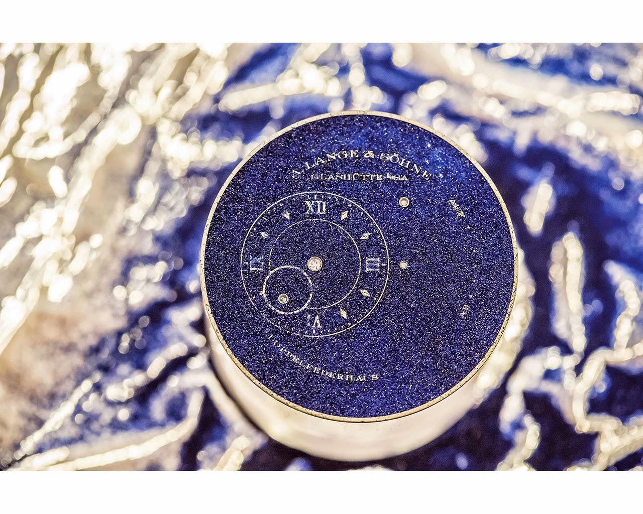 Como realiza A. Lange & Söhne un dial esmaltado debajodelreloj 95