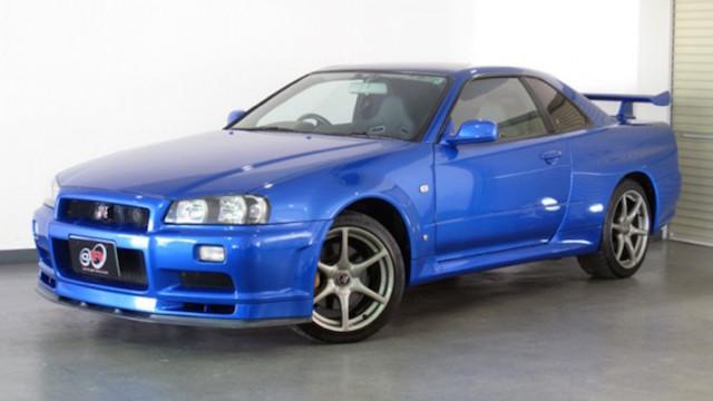 Spec V 1999 Nissan Skyline