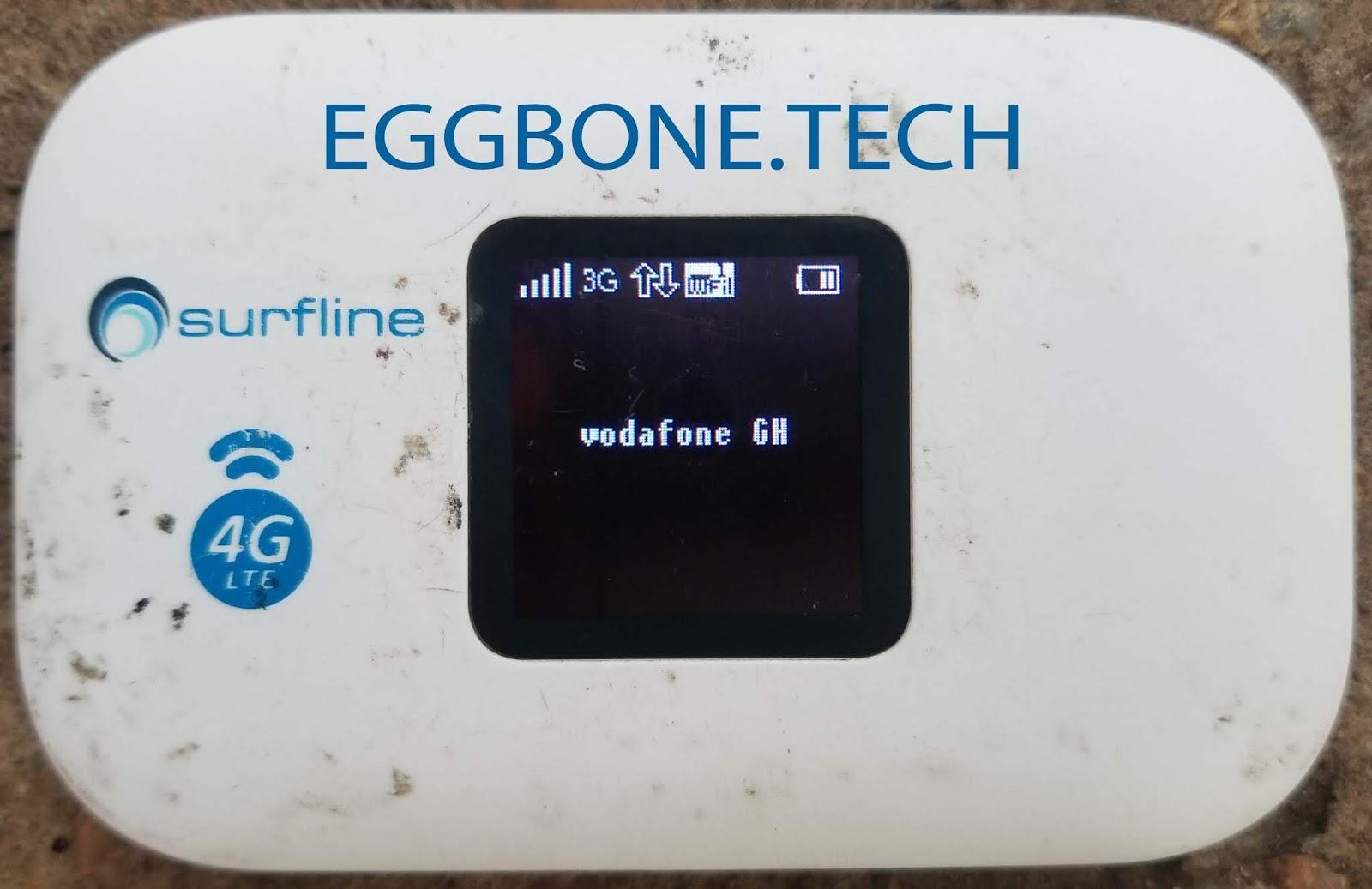 UNLOCK SURFLINE L2000 / L3000 MIFI ROUTER - EGGBONE UNLOCKING GROUP