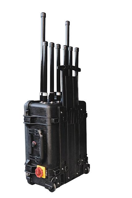 Bloqueador de sinal VHF/UHF/3G/4G/WiFi e sinal de wireless de poder superior