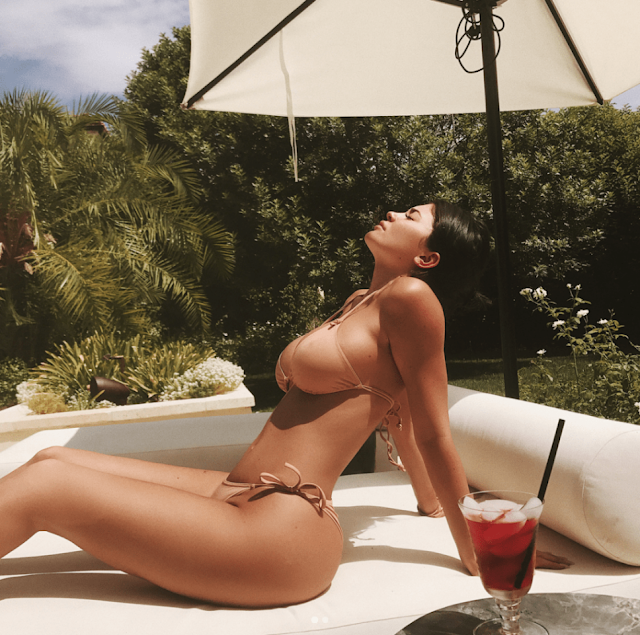 Kylie Jenner in bikini