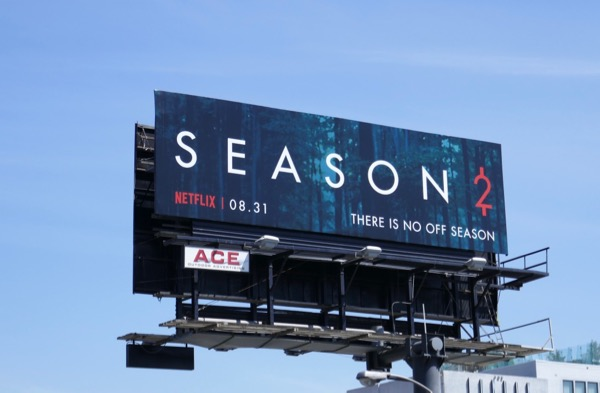 Season 2 Ozark billboard