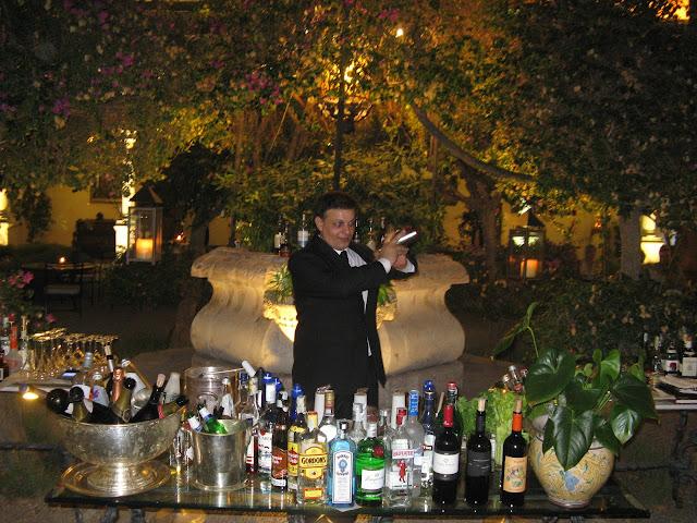 barman hotel san domenico taormina