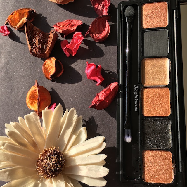 sleek i-lust eyeshadow palette into the night bronze 7