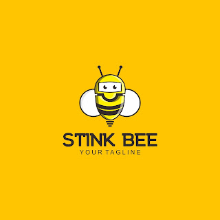 Stink Bee Logo Design