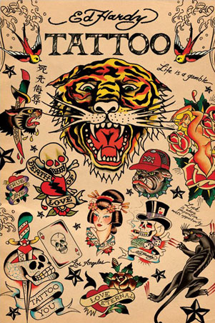 Tattoos script - Ed hardy designs wallpaper ...