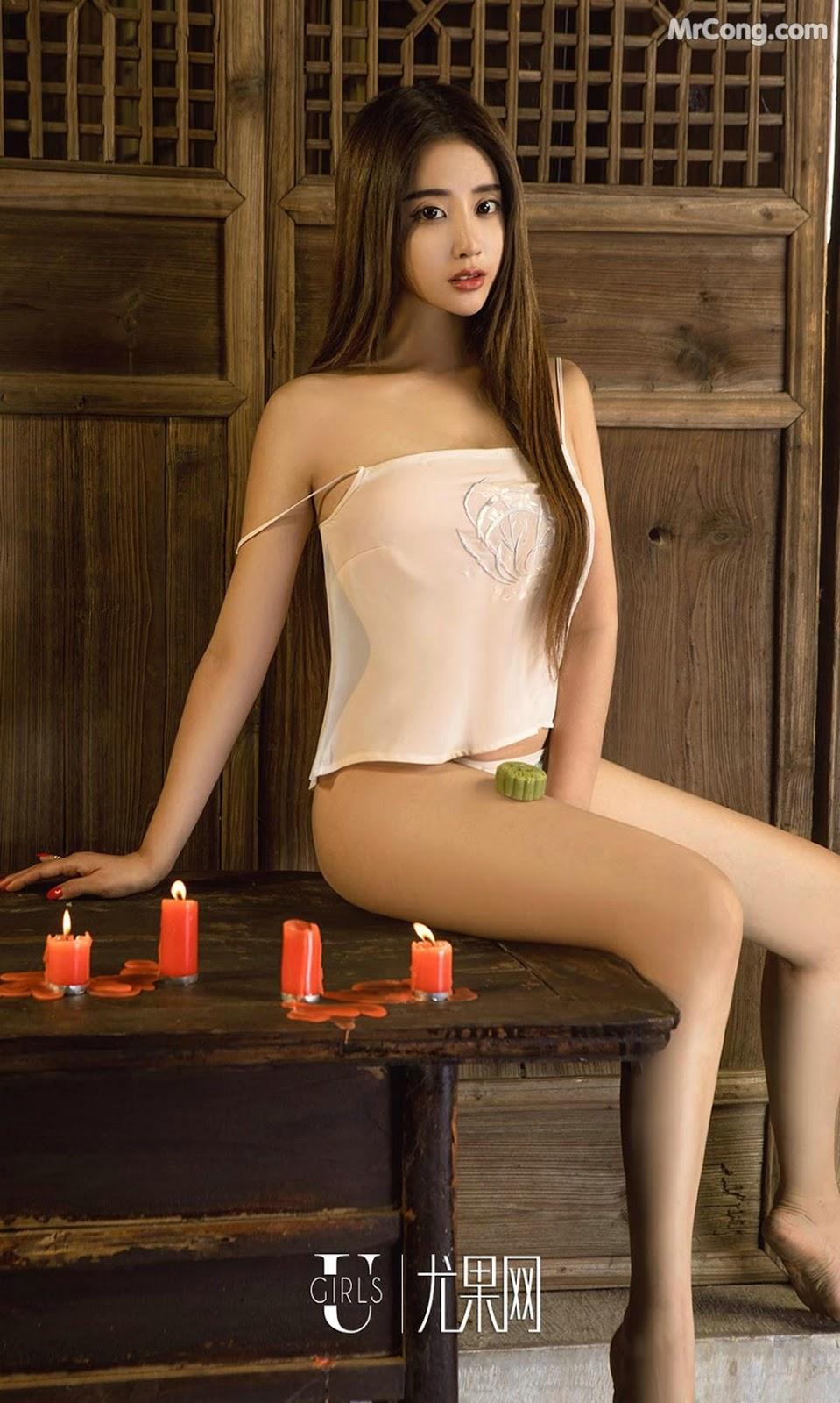 Image UGIRLS-Ai-You-Wu-App-No.868-Zhao-Zhi-Yan-Xiao-Hui-MrCong.com-002 in post UGIRLS – Ai You Wu App No.868: Người mẫu Zhao Zhi Yan (赵智妍) và Xiao Hui (筱慧) (40 ảnh)