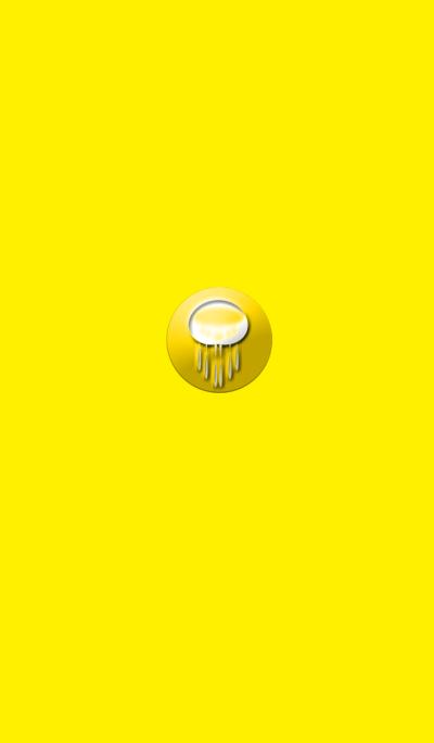 不思議な黄色いクラゲ