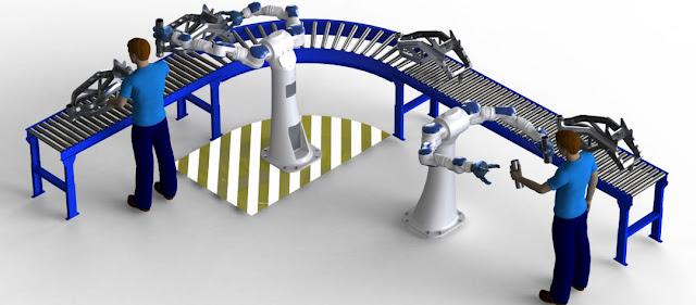В каких отраслях самые высокие темпы роботизации?