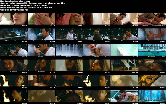 Ishq Khuda - Heartless (2014) Full Music Video Song Free Download And Watch Online at worldfree4u.com