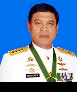 Menteri Koordinator Bidang Polhukam Tedjo Edy Purdijatno