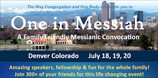 One in Messiah Denver 2019 link to http://oneinmessiahconvocation.com