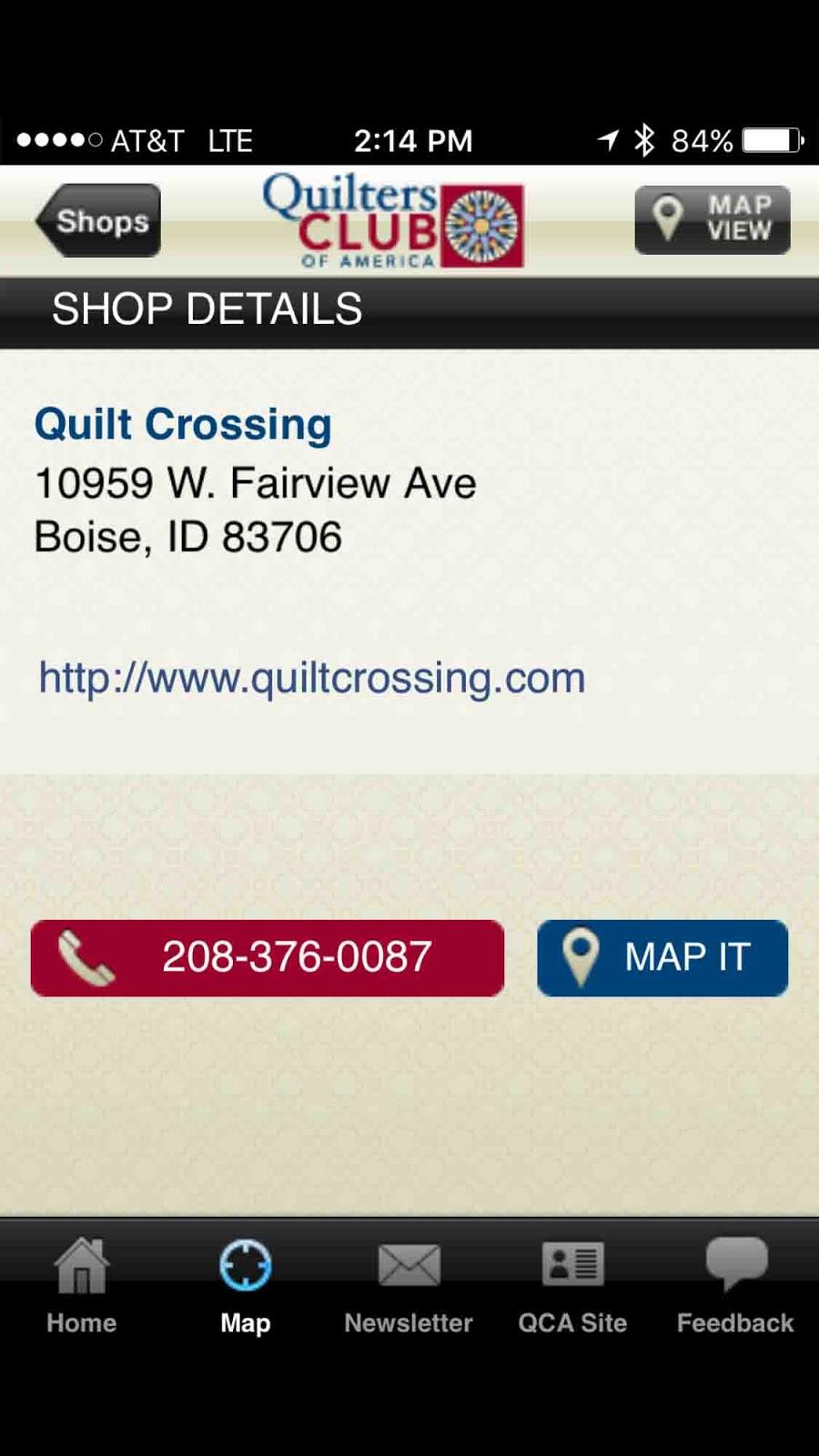 Cat Patches: Quilt Shop: Quilt Crossing, Boise, Idaho : idaho quilt shops - Adamdwight.com