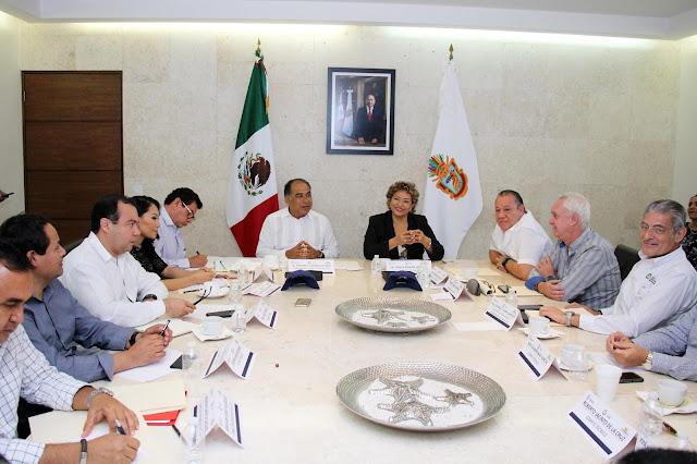 Participa Adela Román en Sesión Extraordinaria del Comité Técnico de Fideicomiso