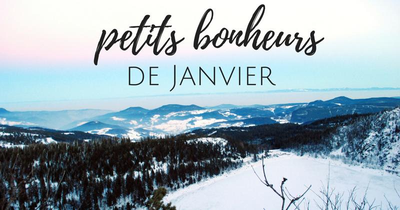 Petits bonheurs de janvier et #BlogueursDesNeiges