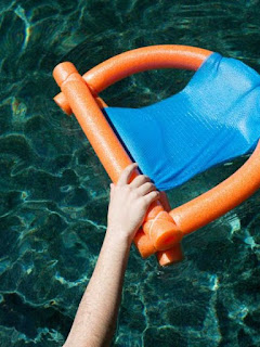 DIY Pool Noodle Chair