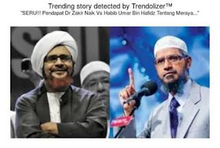 Dr. Zakir Naik dan Habib Umar bin Hafidz