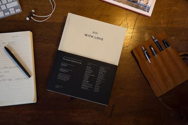 With Love Project Hardbound Book on Kickstarter
