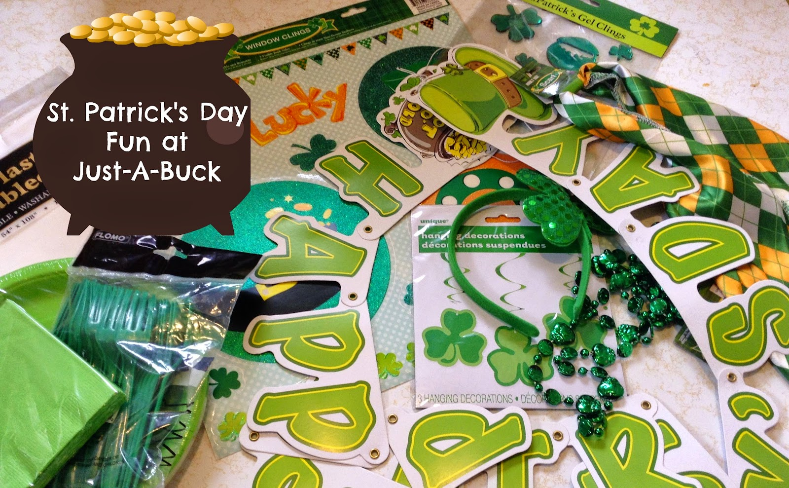 Just-A-Buck Northeast Ohio -  St. Patrick's Day Fun