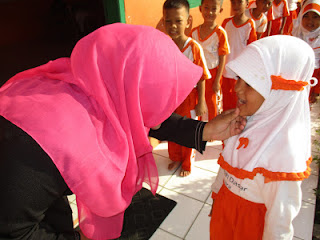 SD Juara Cilegon Tanamkan Pentingnya Kebersihan Tubuh Kepada Siswa