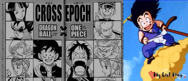 Luffy was able to ride Goku's cloud