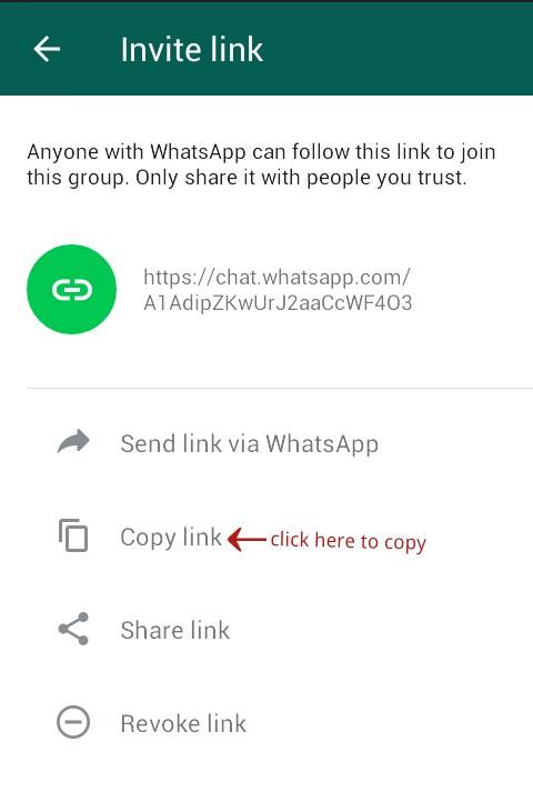 WhatsApp Group Invitation Link Kaise Create Kare ? - apna web4 help