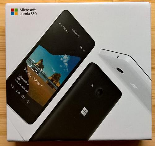 Microsoft Lumia 550: Windows 10 Mobile Termurah