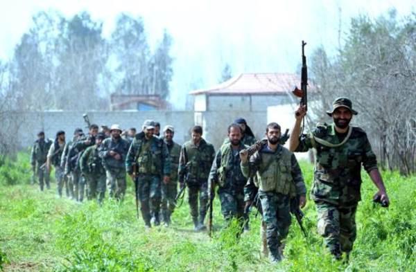 إنهيارات متسارعة في صفوف الإرهابيين والجيش السوري يتقدم سريعاً في ريف درعا.