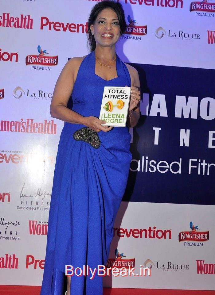 Leena Mogre, Madhuri Dixit Hot Pics at Leena Mogre's 'Total Fitness' Book Launch