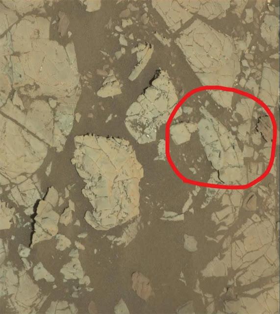 Imagem feita pela MastCam da sonda Curiosity em dezembro de 2017