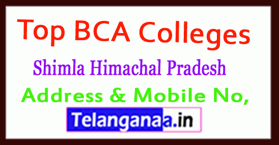 Top BCA Colleges in Shimla Himachal Pradesh