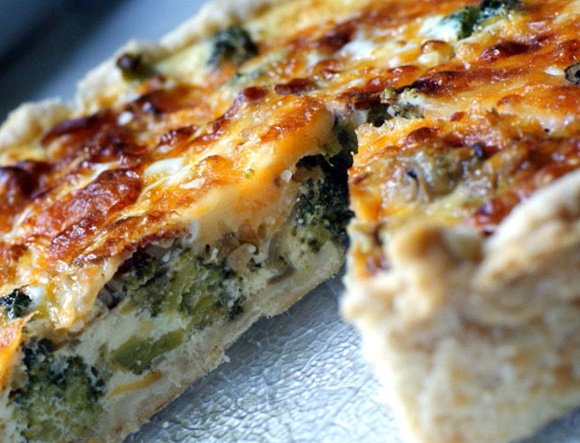 Quiche De Brocoli Y Bacon