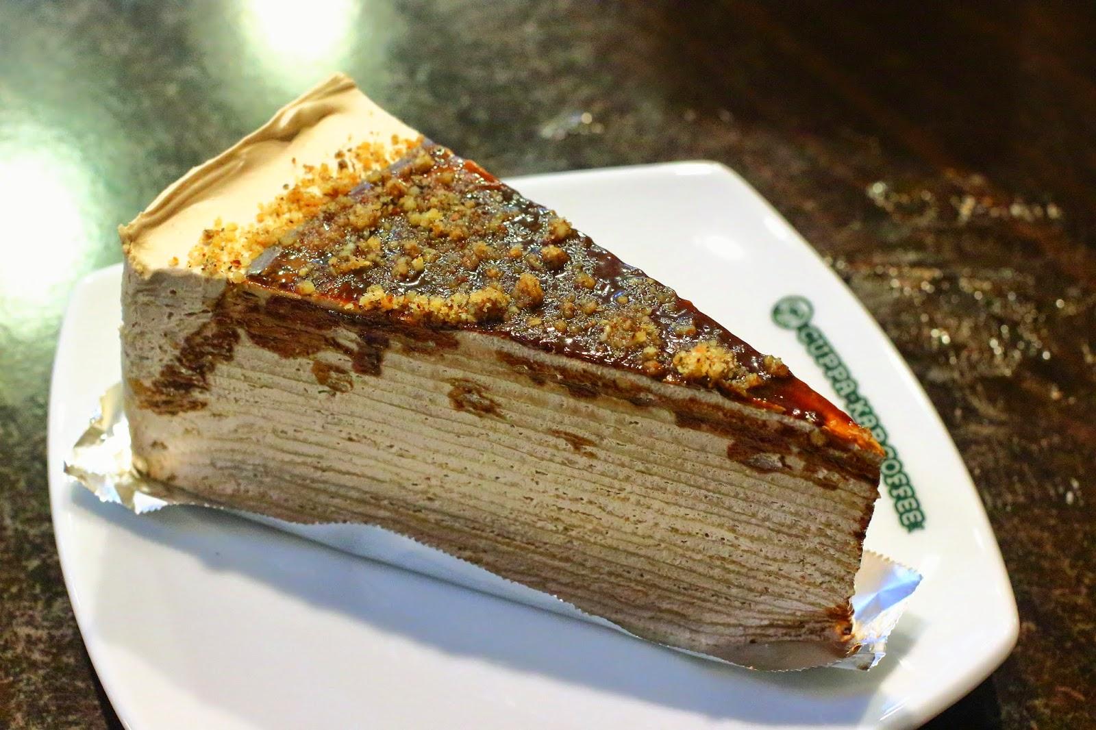 Korean Crepe Cake Recipe: Eat + Travel + Play : Nutella Mille Crepe @ Cuppa-Kap Coffee