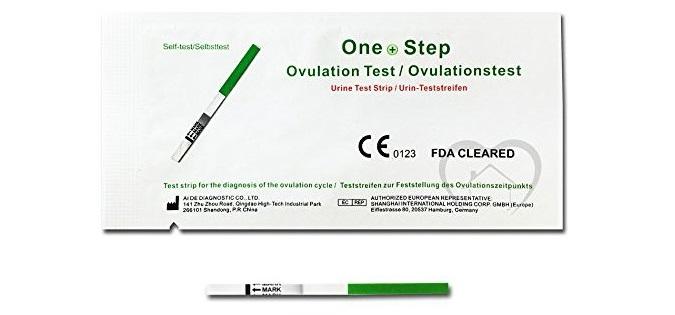 test de ovulación en tira