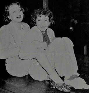 Marlene Dietrich Claudette Colbert