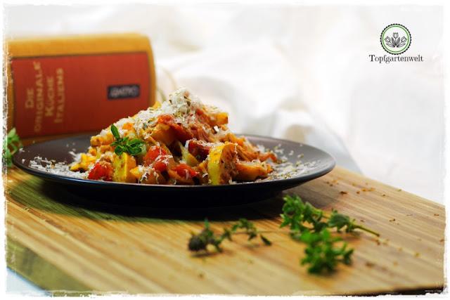 Tagliatelle mit Gemüsesause Originalrezept aus Italien - Foodblog Topfgartenwelt
