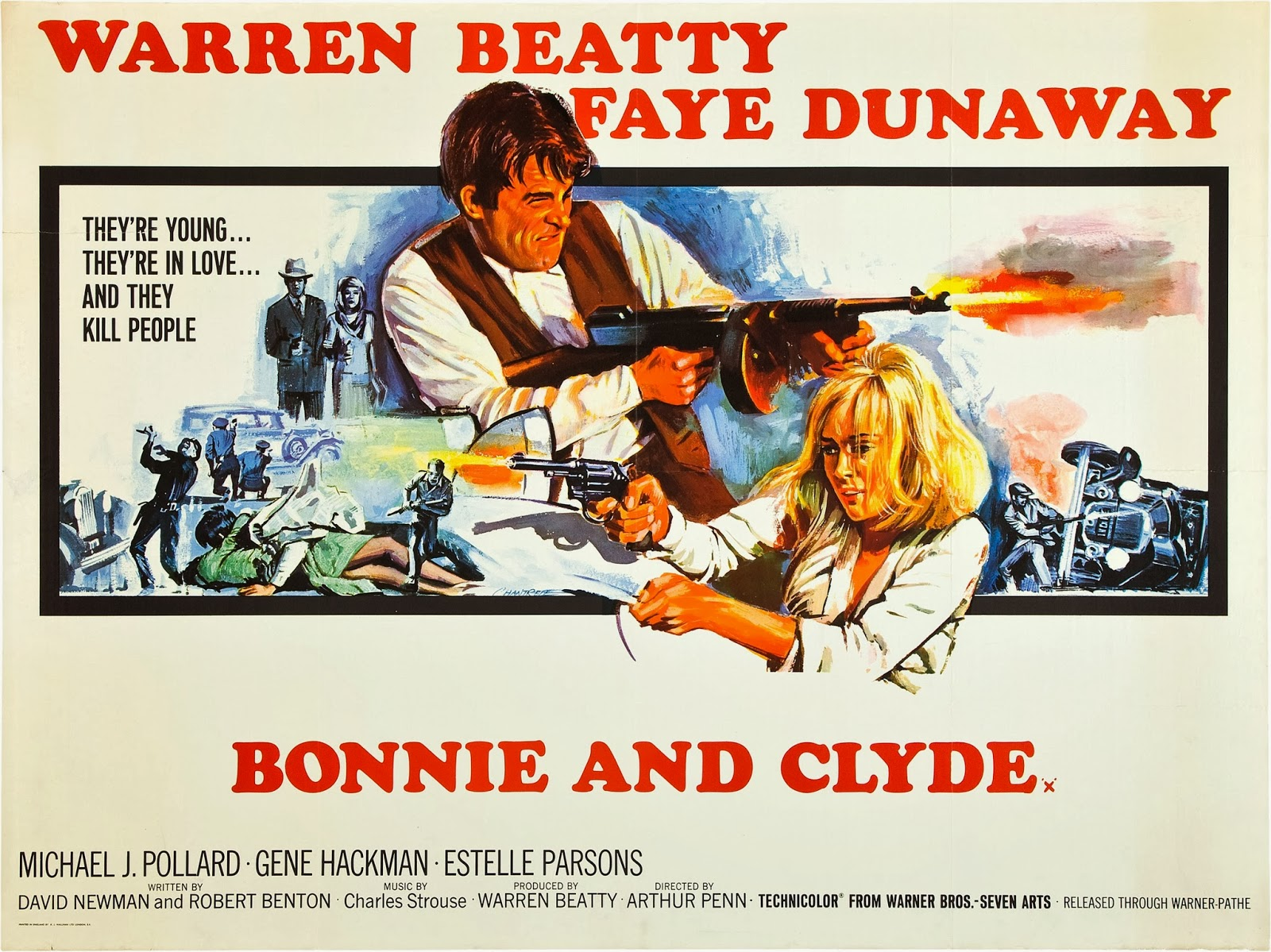 Not in Kansas Any More: Movie Musings: Bonnie and Clyde (1967)