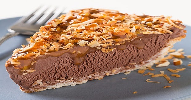 German Chocolate Ice Cream Pie Recipe - Desserts Recipes