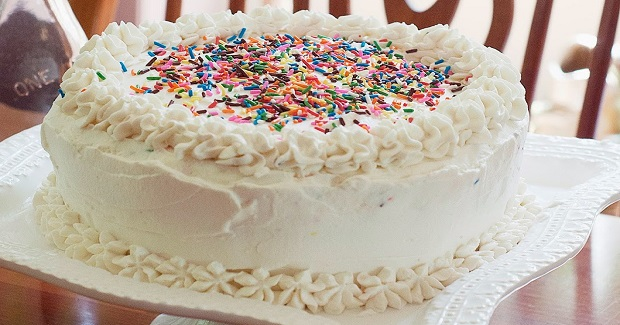 Triple Layer Funfetti Cake Recipe