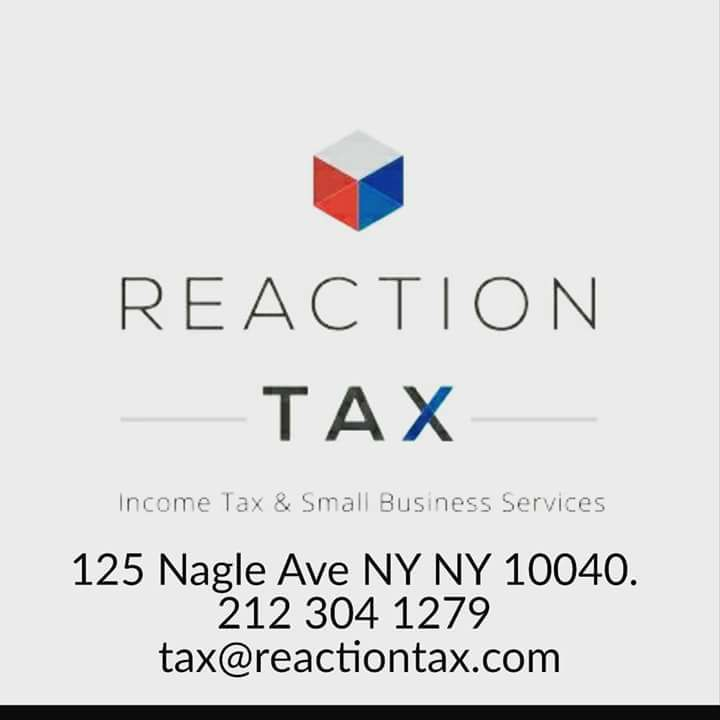 REACTION TAX (EDWARD LANTIGUA) 212.303.1279