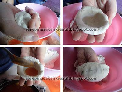 Cara Membuat Cireng Isi Saus Pedas