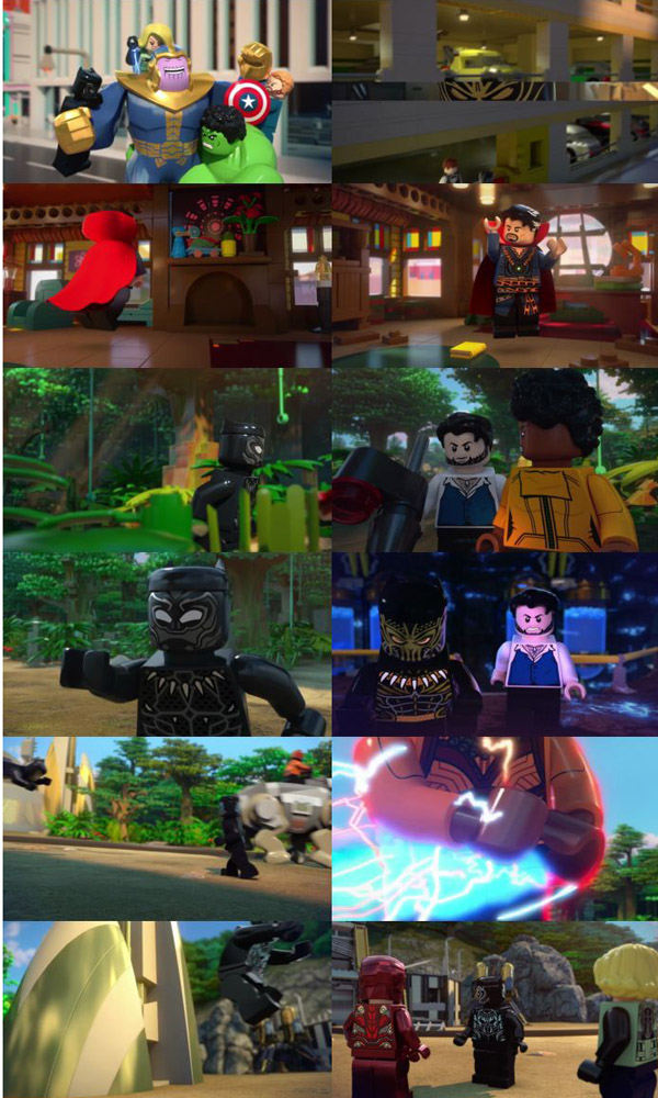 Lego Marvel Super Heroes Avengers Reassembled 2015 Dual Audio