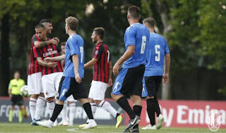 AC Milan vs Novara 2-0 Video Gol & Highlights - Friendly Match