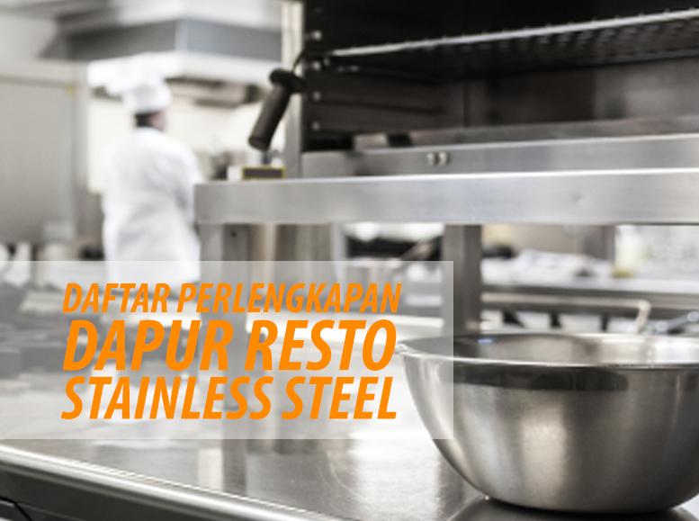 Harga Meja Stainless Steel Murah & Bergaransi