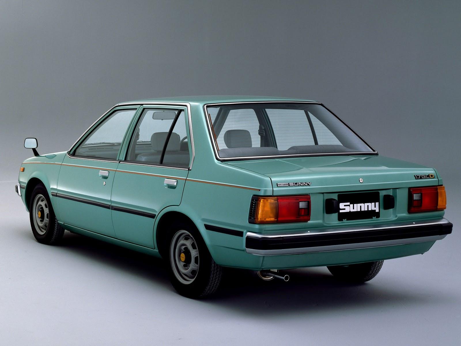 Speed Machines Classic: 1981 | Nissan Sunny ( B11 ) sedan 1.7