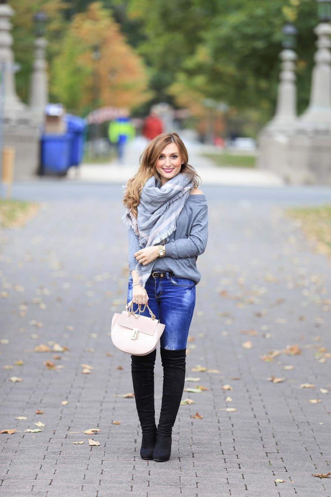 C&A-C&A Blogger-Fashionblogger aus Deutschland-Herbstlooks-Was trage ich im Winter-Overknees-Overknees kombinieren-wie kombiniere ich Overknees-Stiefel-Trends Winter2016-Winter Must Have-Bloggersty
