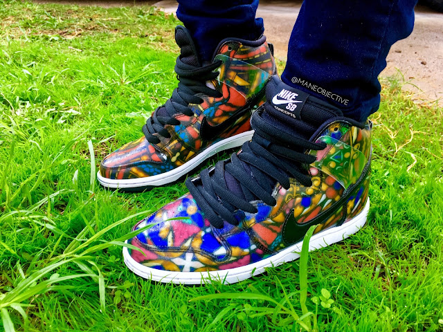 Nike Concepts SB Dunk Stained Glass Holy Grail