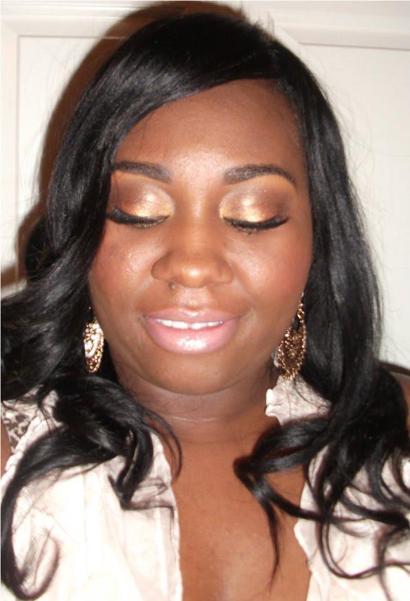 Queenie Keisha: Lauren London Inspired Makeup